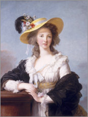 Elisabeth Louise Vigee-Lebrun - Portrait of the Duchess of Polignac