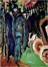 Ernst-Ludwig Kirchner - Friedrichstrasse