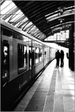 Falko Follert Art-FF77 - S-Bahn Berlin black and white photo
