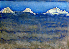 Ferdinand Hodler - Eiger, Mnch und Jungfrau