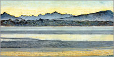 Ferdinand Hodler - Genfersee mit Mont-Blanc