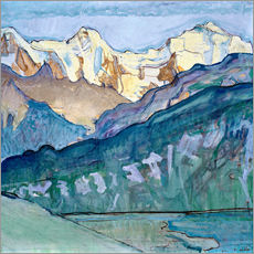 Ferdinand Hodler - Jungfrau, Mnch und Eiger