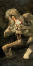 Francisco Jos de Goya - Saturn Devouring one of his Children