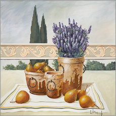 Franz Heigl - Stillleben mit Lavendel