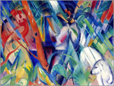 Franz Marc - Im Regen. 1912