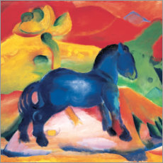 Franz Marc - kleines blaues Pferd