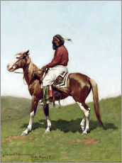 Frederic Remington - Comanche Brave, Fort Reno, Indian Territory, 1888