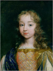 French School - Portrait of Louis XIV as a child