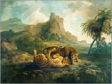 George Stubbs - Leopards at Play