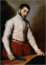 Giovanni Battista Moroni - Portrait of a Man