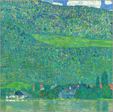 Gustav Klimt - Am Attersee. 1915