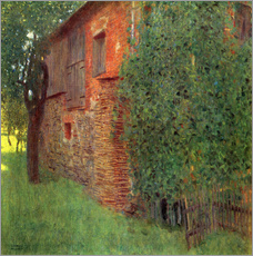 Gustav Klimt - Bauernhaus
