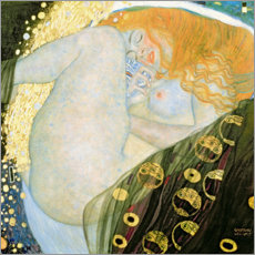 Gustav Klimt - Danae