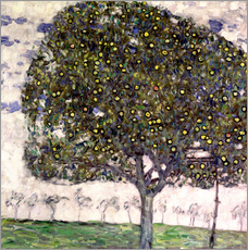 Gustav Klimt - Der Apfelbaum II