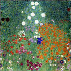 Gustav Klimt - Flower Garden, 1905-07
