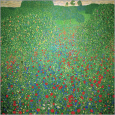 Gustav Klimt - Mohnwiese