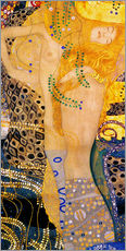 Gustav Klimt - Water Serpents 