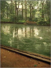 Gustave Caillebotte - Die Yerres bei Regen