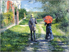 Gustave Caillebotte - The Path Uphill, 1881