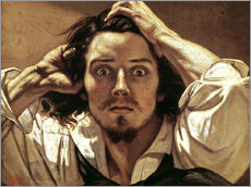 Gustave Courbet - Selbstbildnis Le Dsespr