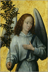 Hans Memling - Engel mit einem Olivenzweig