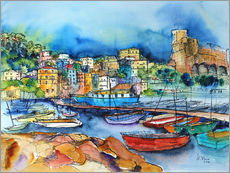 Hartmut Buse - Lerici Ligurien Am Hafen