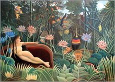 Henri Rousseau - Der Traum. 1910