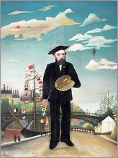 Henri Rousseau - Self Portrait
