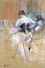 Henri de Toulouse-Lautrec - Woman at her Toilet, study for `Elles`