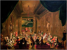 Ignaz Unterberger - Initiation ceremony in a Viennese Masonic Lodge during the reign of Joseph II