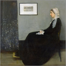 James Abbott McNeill Whistler - Arrangement in Grey and Black No.1