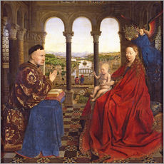 Jan van Eyck - Die Rolin Madonna