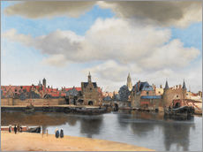 Jan Vermeer - Ansicht von Delft