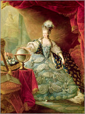 Jean-Baptiste Andre Gautier D'Agoty - Marie Antoinette