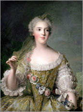 Jean-Marc Nattier - Portrait of Madame Sophie