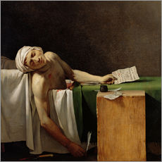 Jerome Martin Langlois - The Death of Marat