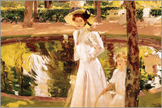 Joaquin Sorolla y Bastida - Der Garten