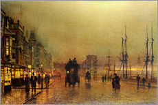 John Atkinson Grimshaw - Glasgow