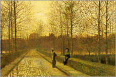 John Atkinson Grimshaw - In the Golden Gloaming, 1883