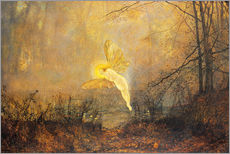 John Atkinson Grimshaw - Midsummer Night, or 'Iris', 1876