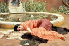John William Godward - das se Nichtstun 