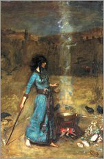 John William Waterhouse - The Magic Circle, 1886