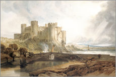 Joseph Mallord William Turner - Conway Castle, c.1802