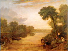 Joseph Mallord William Turner - The Thames near Windsor