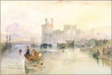 Joseph Mallord William Turner - Blick auf Carnarvon Castle