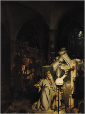 Joseph Wright of Derby - Der Alchymist