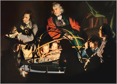 Joseph Wright of Derby - Das Sonnensytemmodell 
