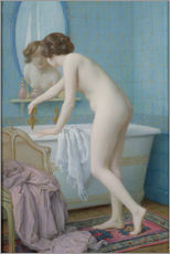 Jules Scalbert - Young Woman Preparing her Bath