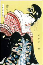Kitagawa Utamaro - Takigawa from the Tea-House