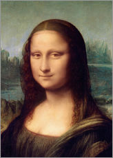 Leonardo da Vinci - Detail der Mona Lisa